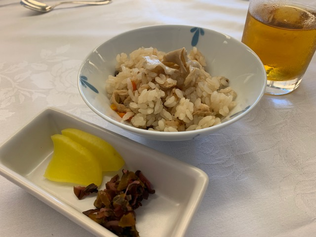 ハナビラタケの炊込みご飯